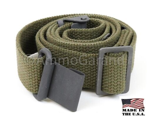 Garand Web Sling for M1 and Current Issue Rifles OD Cotton USGI Pattern US Made!Reproductions - 156443