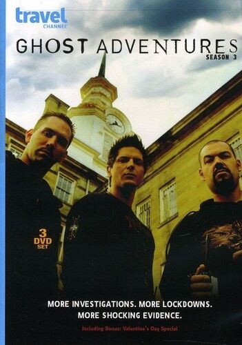Ghost Adventures Season 3 TV Series Region 1 New 3xDVD