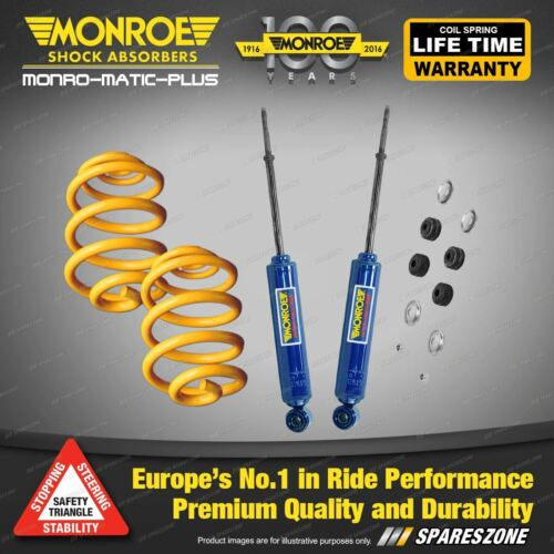 HOLDEN COMMODORE VF 8 CYL WAGON 2013-2016 REAR 50MM SUPER LOW KING COIL SPRINGS