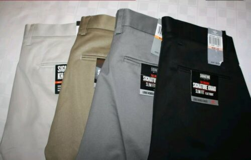 DOCKERS Comfort Khaki Men's Pants Relaxed Fit Pleated THE BEST PRESSED NWT