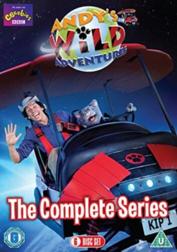 Andy's Wild Adventures The Complete Series 1 Season One Region 4 DVD New Andys
