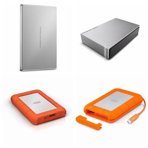 LaCie Porsche Design Rugged 1TB 2TB 4TB 8TB Portable External Hard Drive HDD MAC