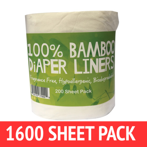 1600 Bamboo Nappy/Diaper Liners/Inserts PREMIUM QLTY  cloth/disposable