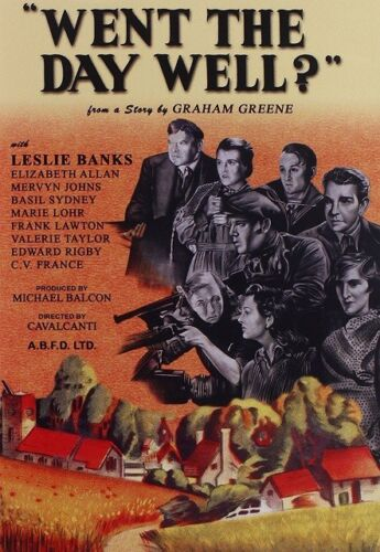Went The Day Well (Leslie Banks, Christopher Lee Region 4 DVD New