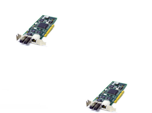 2x ALLIED TELESIS AT 2451FTX/ST 001 PCI ETHERNET FIBER NETWORK INTERFACE CARD