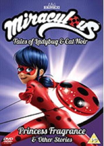 Miraculous Tales of Ladybug & Cat Noir Volume 3 And Vol Three New DVD