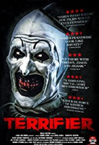Terrifier (Jenna Kanell David Howard Thornton) New DVD Region 4 IN STOCK NOW