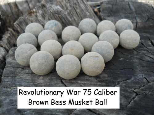 Rare Vintage Antique Revolutionary War Relic 75 Caliber Brown Bess 1 Musket BallOriginal Period Items - 10951