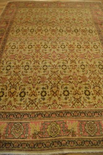 4' x 6' Beautiful Persian Tabriz Antique Handmade Rug ca.1870 - FREE SHIPPING!