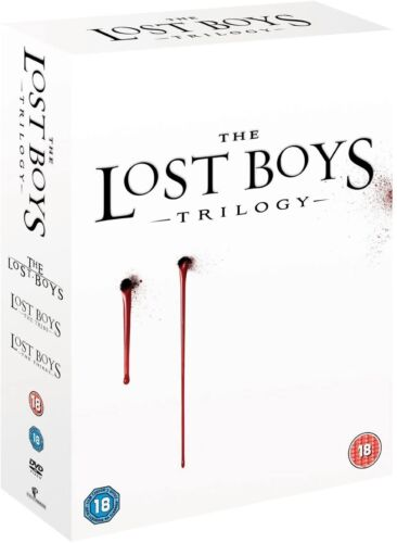 Lost Boys Trilogy - Lost Boys + The Tribe + The Thirst 1 2 3 New Region 4 DVD