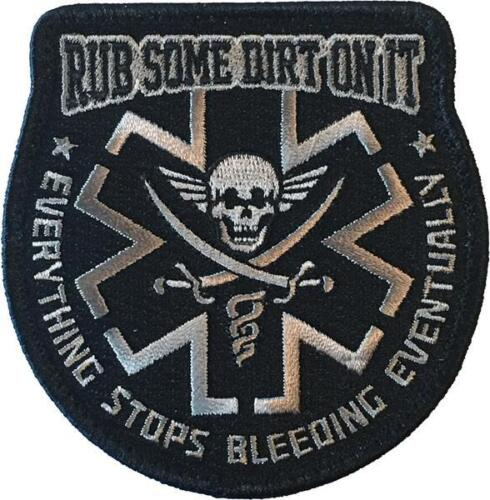 Rub Some Dirt On It - SWAT - Embroidered Morale PatchOther Current Military Patches - 36070