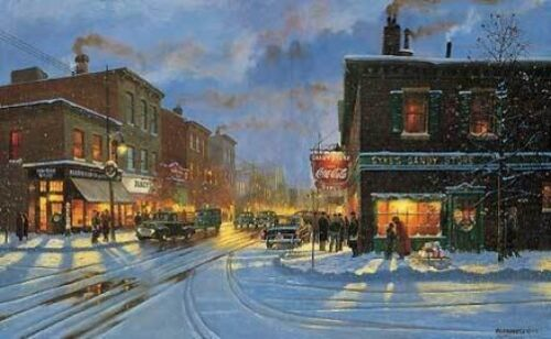 DAVE Barnhouse  Christmas -TIS THE SEASON PRINT-Signed and Numbered