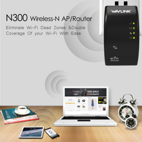 Wavlink 2.4G 300Mbps Wireless Repeater,Wireless-N Singal Booster&Range Extender