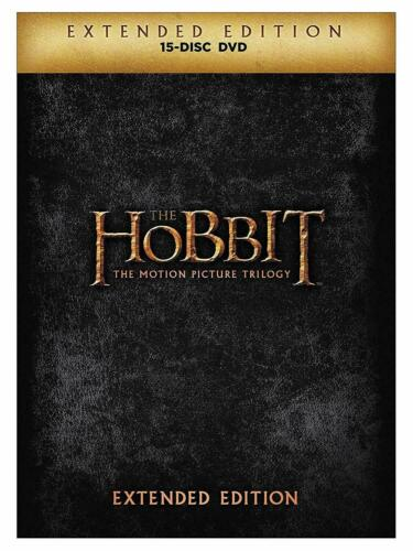 The Hobbit Trilogy Extended Edition Region 4 DVD New (15 Discs)