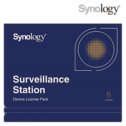 Synology Camera License Pack for 8 Cameras