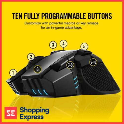 Corsair IronClaw RGB Wireless Gaming Mouse (CH-9317011-AP) Fortnite