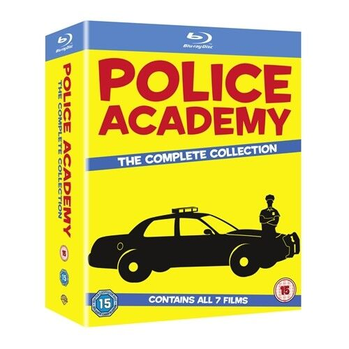 Police Academy 1 2 3 4 5 6 7 Complete Collection Blu-ray RegB BRAND NEW IN STOCK