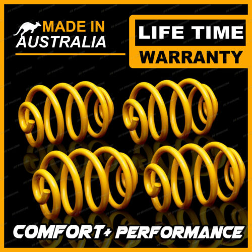 HOLDEN COMMODORE VN SEDAN 8CYL FRONT /& REAR ULTRA LOW KING COIL SPRINGS
