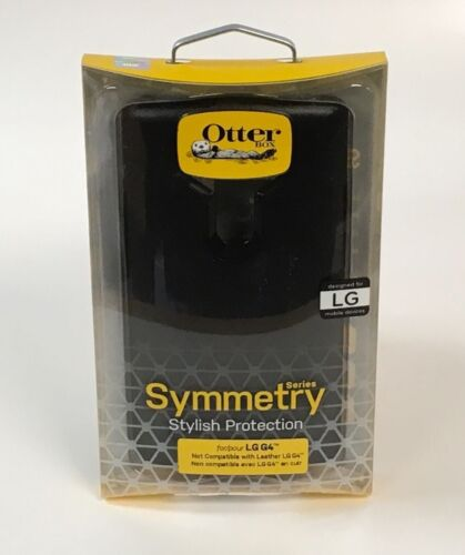 OtterBox Symmetry Series - Black for LG G4 77-51593 NEW!
