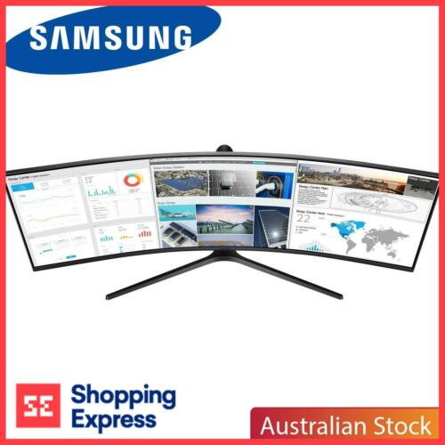 """Samsung C49J890DKE 49"""" Curved Business Monitor with 32:9 Super Ultra-wide screen"""