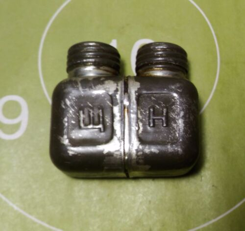 2PCS Surplus Chinese Military Type 56 Oiler Bottle Can Plastic