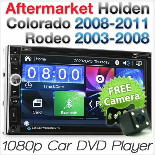 Car DVD MP3 Player Holden Colorado Rodeo CD Stereo Radio Fascia Facia ISO Kit AT