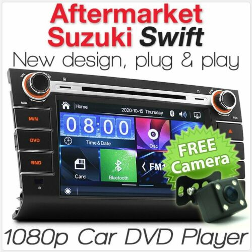 "8"" Car DVD MP3 Player For Suzuki Swift RS 415 USB CD Head Unit Stereo Radio MP4"