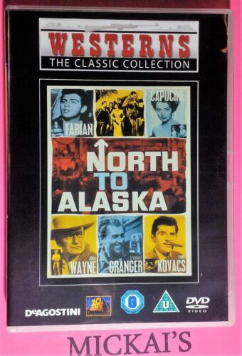 NORTH TO ALASKA - WESTERNS THE CLASSIC COLLECTION WTCCN34 DVD PAL JOHN WAYNE OOP
