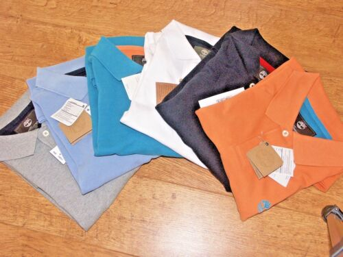 Timberland mens Earthkeepers Short Sleeve Pique Polo Shirt 6 colours 3sizes BNWT