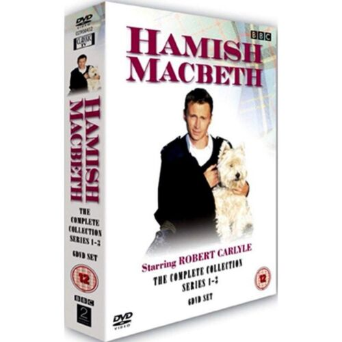 Hamish Macbeth Series 1 2 3 Season 3 2 1 One Two Three New Region 4 DVD Box Set