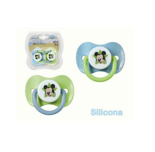 PACK 2 CHUPETES MICKEY SILICONA (16664)