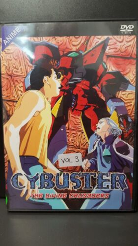 """Cybuster - Vol. 3: """"The Divine Crusaders"""" - Anime DVD"""