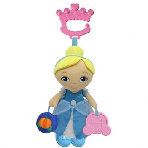 NEW Disney Princess Cinderella Baby Attachable Activity Toy