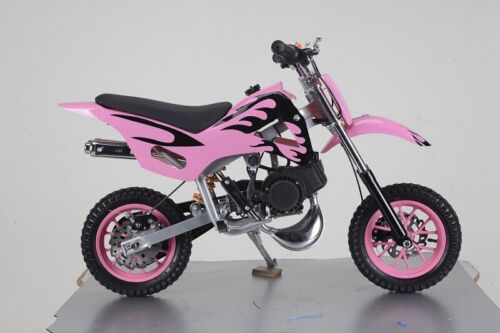 PINK 49CC MINI MOTOR DIRT BIKE KIDS POCKET ROCKET PEE WEE MOTORCYCLE ATV 50CC <br/> GENUINE SYDNEY SELLER - PINK BLACK COMBINATION
