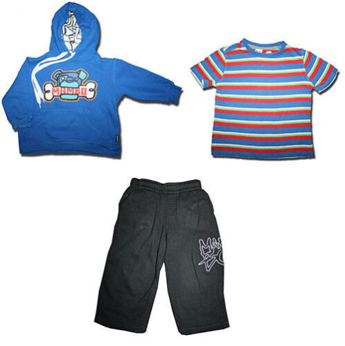 Value Size 3 MIXED LOT of T-Shirt, Hoody & Tracksuit Pants from H& T and MAMBO