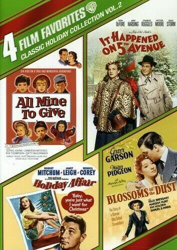 4 Film Favorites Classic Holiday Collection 2 R4 DVD 5th Avenue Holiday Affair