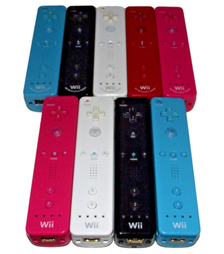 Genuine Nintendo Wii Controller Remote Selection Wii U Nunchuck Motion Plus Mote