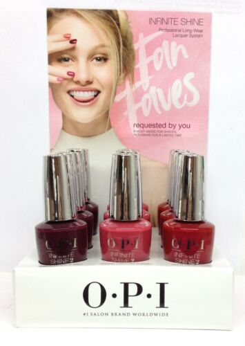 OPI Infinite Shine Nail Lacquer FAN FAVORITE Collection - Choose Any Color 0.5oz