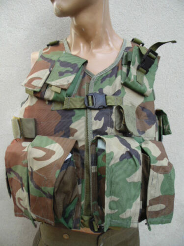 AFGHANISTAN : GILET CAMOUFLE MULTI-POCHES ARMEE AFGHANE ideal paintball