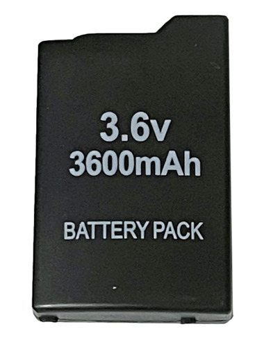New Rechargeable Battery for PSP 1000 and 1002 Sony PlayStation Portable 3600mAh