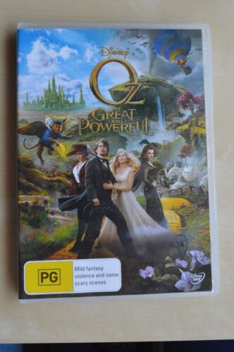Oz The Great And Powerful (DVD, 2013) James Franco Michelle Williams Mila Kunis