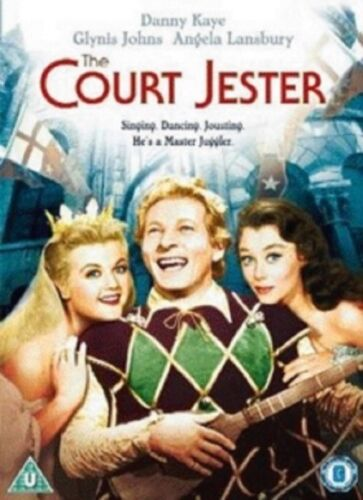 The Court Jester (Danny Kaye, Glynis Johns, Basil Rathbone) New Region 4 DVD