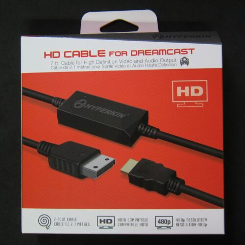 Hyperkin DC HD HDMI Cable Adapter for Sega DreamCast to HDTV 480P Brand New