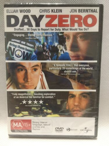 ELIJAH WOOD DAY ZERO DRAFTED INTO ARMY COMPELLING DVD MOVIE FILM