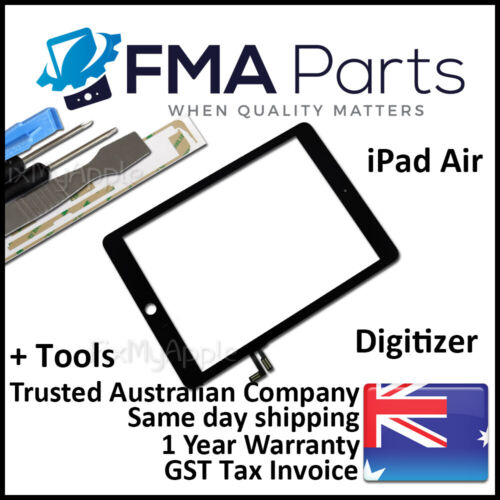 iPad Air 9.7 2017 Black Front Glass Touch Screen Digitizer Lens Replacement Tool