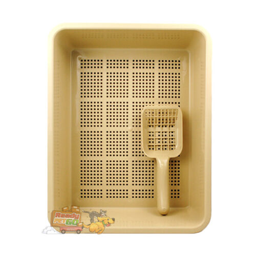 Catmate Litter Trays With Sieve- Designed For Use With Catmate Cat Litter