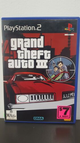 Grand Theft Auto 3 - PS2 Game