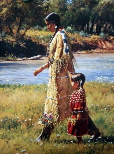 Martin Grelle Summer on the Greasy Grass 12 x 9