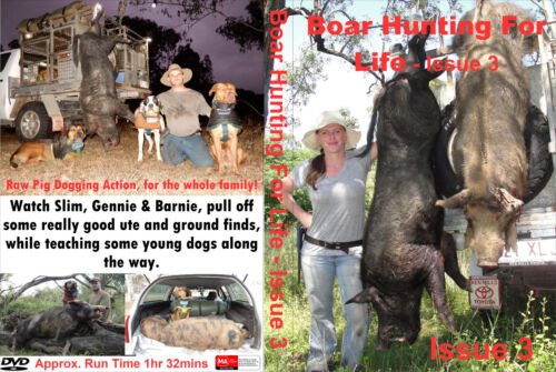 Pig Hunting DVD - Boar Hunting For Life - Issue 3