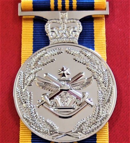 **ARMY NAVY AIR FORCE AUSTRALIAN DEFENCE LONG SERVICE MEDAL REPLICAOther Eras, Wars - 135